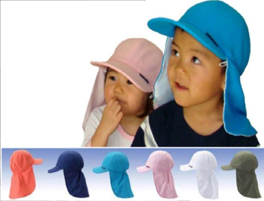 酷旅人孩童爱心皮瓣帽